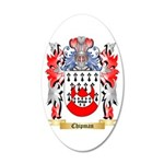 Chipman 20x12 Oval Wall Decal