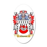 Chipman 35x21 Oval Wall Decal