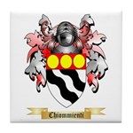 Chiommienti Tile Coaster