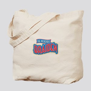 The Incredible Braiden Tote Bag
