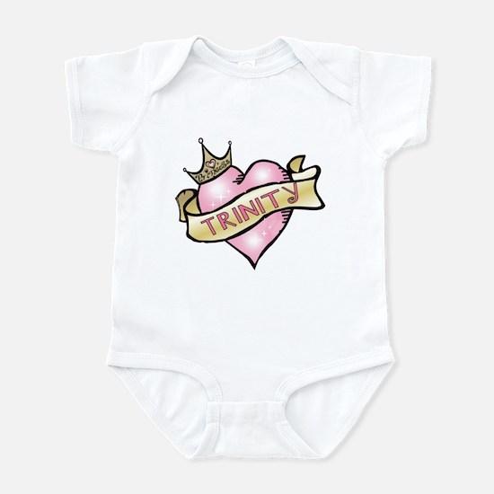 Sweetheart Trinity Custom Princess Infant Bodysuit