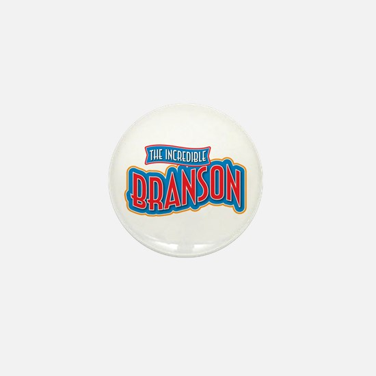 The Incredible Branson Mini Button