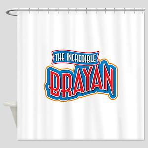The Incredible Brayan Shower Curtain
