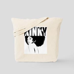 Kinky Hair Afro Tote Bag