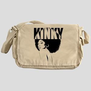 Kinky Hair Afro Messenger Bag