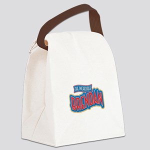 The Incredible Brendan Canvas Lunch Bag