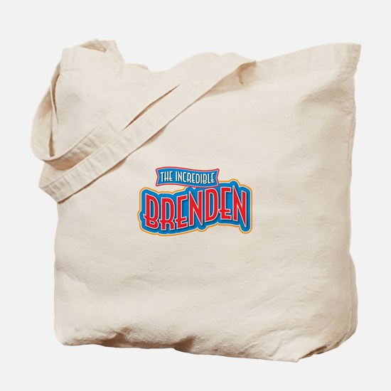 The Incredible Brenden Tote Bag