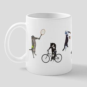Sports Cats Mug