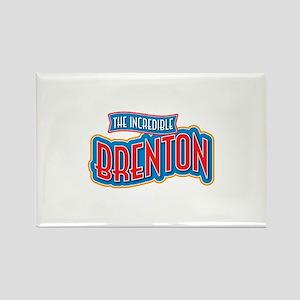 The Incredible Brenton Rectangle Magnet