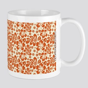 Tropical Carolina Hibiscus Orange Mug