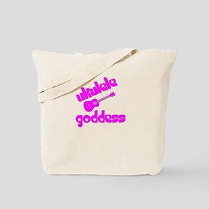 Girls Ukulele Tote Bag