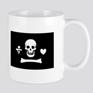 Stede Bonnet Jolly Roger Pirate Flag Mug