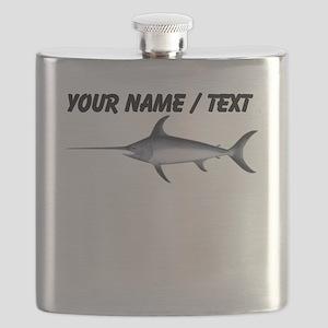Custom Swordfish Flask