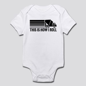 Funny Mixer Driver Infant Bodysuit