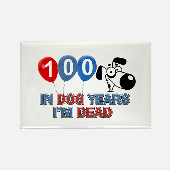 Funny 100 year old designs Rectangle Magnet