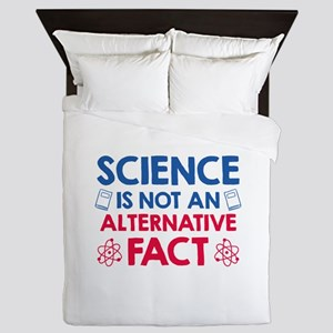 Science Queen Duvet