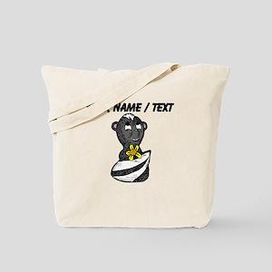 Custom Cartoon Skunk Tote Bag