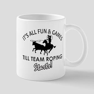 Team Roping designs Mug