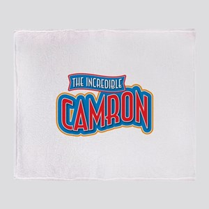 The Incredible Camron Throw Blanket