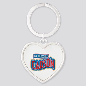 The Incredible Carson Keychains