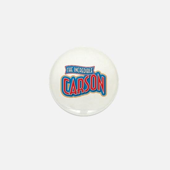 The Incredible Carson Mini Button