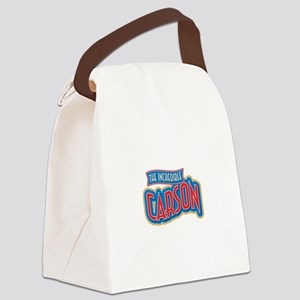 The Incredible Carson Canvas Lunch Bag