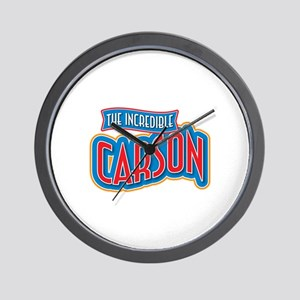 The Incredible Carson Wall Clock