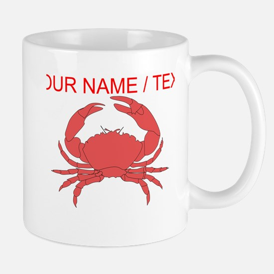 Custom Red Crab Mug