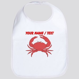 Custom Red Crab Bib
