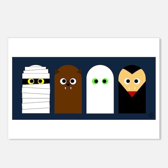 Halloween! Postcards (Package of 8)