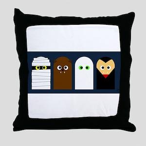 Halloween! Throw Pillow