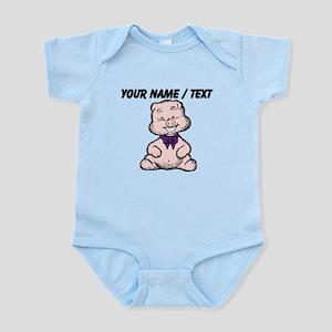 Custom Funny Pig Cartoon Body Suit