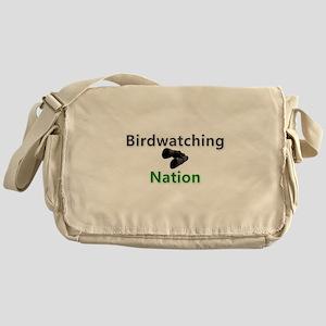 Birdwatcher Nation fan wear! Messenger Bag