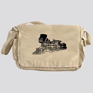 Old Style Train Messenger Bag