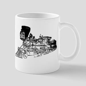 Old Style Train Mug