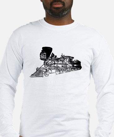 Old Style Train Long Sleeve T-Shirt