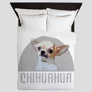 Chihuahua dog Queen Duvet