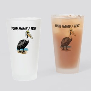 Custom Pelican Drinking Glass