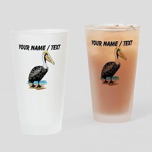 Custom Pelican Drinking Glass