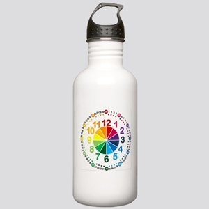 Read It Myself Clock Stainless Water Bottle 1.0L