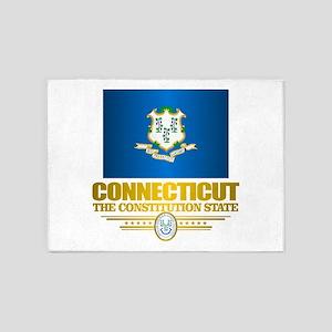 Connecticut Pride 5'x7'Area Rug