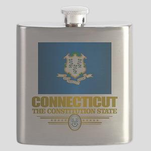 Connecticut Pride Flask