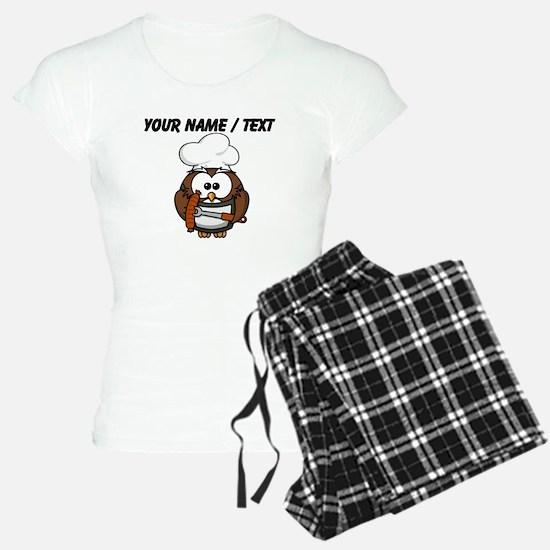 Custom Chef Owl Pajamas