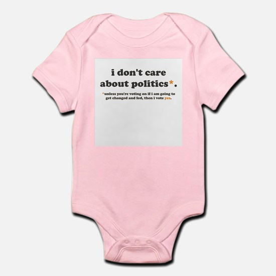 baby vote body suit/onesie