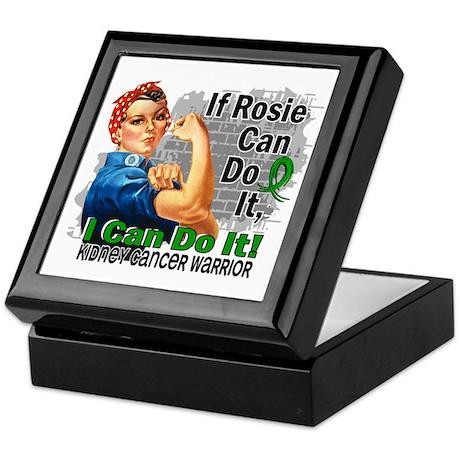 If Rosie Can Do It Kidney Cancer Keepsake Box