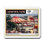 '65 World's Fair Carousel Park Mousepad