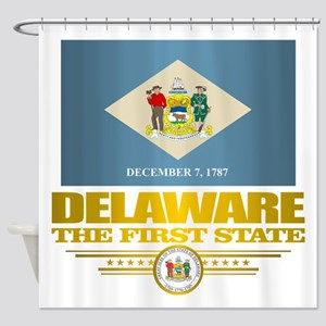 Delaware Pride Shower Curtain