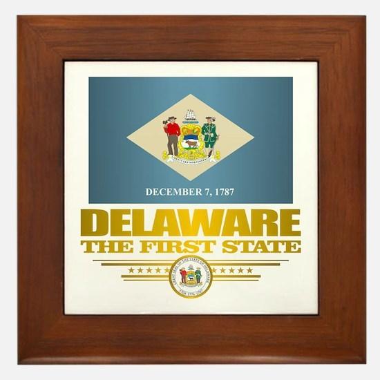 Delaware Pride Framed Tile