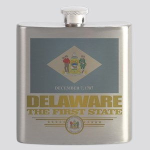 Delaware Pride Flask