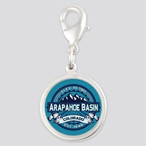 Arapahoe Basin Ice Silver Round Charm